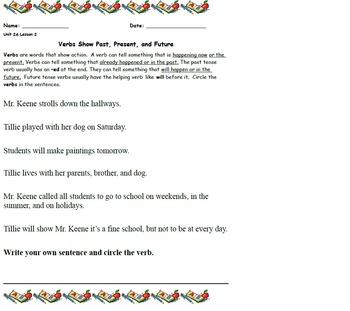 ReadyGen First Grade Module 2A Writing worksheets