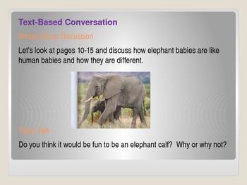 ReadyGen First Grade Unit 1 Module B Lesson 4 Elephants and Their Calves