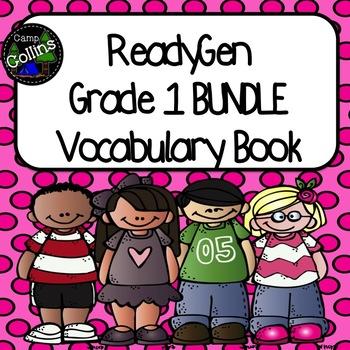 ReadyGen First Grade Vocabulary Journal BUNDLE