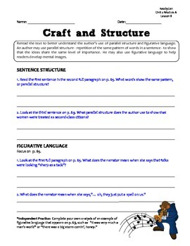 ReadyGen GRAPHIC ORGANIZERS Unit 2 Module A - Grade 5