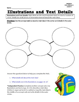 ReadyGen GRAPHIC ORGANIZERS Unit 2 Module B - Grade 1
