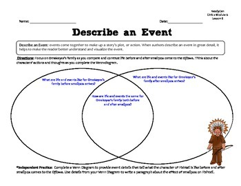 ReadyGen 2014-15 GRAPHIC ORGANIZERS Unit 2 Module B - Grade 4