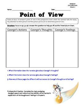 ReadyGen GRAPHIC ORGANIZERS Unit 3 Module A - Grade 5