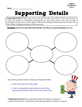 ReadyGen GRAPHIC ORGANIZERS Unit 3 Module B - Grade 1