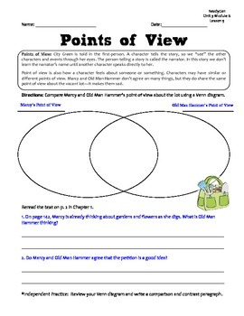 ReadyGen GRAPHIC ORGANIZERS Unit 3 Module B - Grade 2