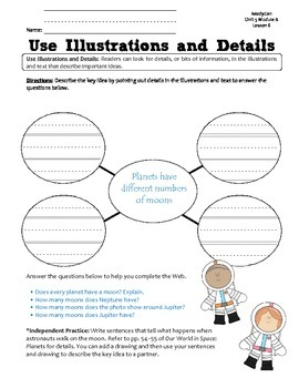 ReadyGen GRAPHIC ORGANIZERS Unit 5 Module B - Grade 1