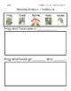 ReadyGen Grade 1 Unit 1 Mod A GRAPHIC ORGANIZERS (Modified for lower level)
