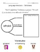 ReadyGen Grade 1 Unit 1 Mod A GRAPHIC ORGANIZERS