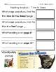 ReadyGen Grade 1 Unit 1 Mod B GRAPHIC ORGANIZERS (with EXTENSIONS)