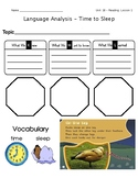 ReadyGen Grade 1 Unit 1 Mod B GRAPHIC ORGANIZERS (with EXT
