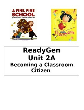 ReadyGen 2014 Grade 1 Unit 2A Concept Board to Differentiate Instruction