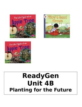 ReadyGen 2014 Grade 1 Unit 4B Concept Board to Differentiate Instruction
