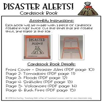 ReadyGen Grade 2 Disaster Alerts Paper Bag Book
