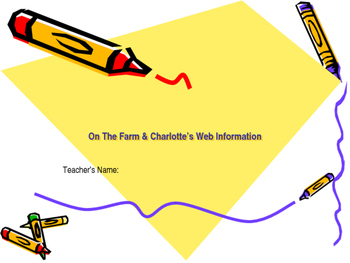 ReadyGen Grade 2- On The Farm and Charlotte's Web Informat