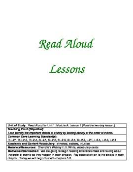ReadyGen Grade 2 Unit 1A Lesson Plans WORKSHOP MODEL with DIFFERENTIATION