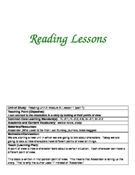 ReadyGen Grade 2 Unit 2A Lesson Plans WORKSHOP MODEL with DIFFERENTIATION