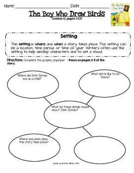 ReadyGen Grade 4 Unit 1 Module A Lesson 11 The Boy Who Drew Birds