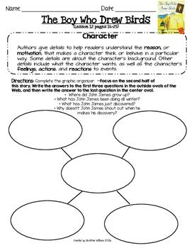 ReadyGen Grade 4 Unit 1 Module A Lesson 12 The Boy Who Drew Birds