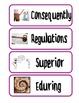 ReadyGen Grade 4 Unit 2 Domain Specific Vocabulary Birchba