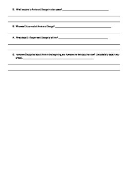 ReadyGen Grade 5: George's Secret Key Quiz on Chapters 1-17