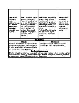 ReadyGen Grade 5 Unit 1 Module A  lessons 1-3