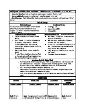 ReadyGen Grade 5 Unit 1 Module A  lessons 10-12