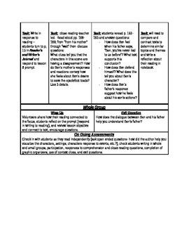 ReadyGen Grade 5 Unit 1 Module A  lessons 7-9