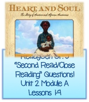 ReadyGen Grade 5Unit 2 Module A Second Read Questions! Lessons 1-9