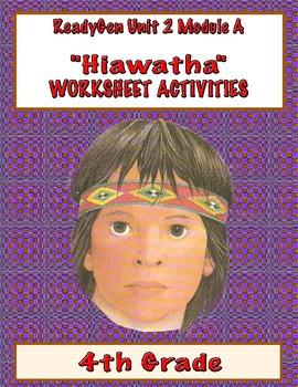 Hiawatha Printable Activities - Henry Wadsworth Longfellow