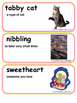 ReadyGen I Love Saturdays y domingos Vocabulary Kindergarten Unit 4 Module A