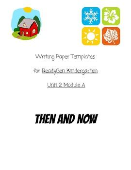 ReadyGen Kindergarten Unit 2 Module A-All Writing Templates & PBA
