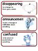 ReadyGen King Kafu and The Moon Vocabulary 1st Grade Unit