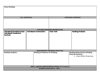 ReadyGen Lesson Plan Template Reading and Writing Ready Gen * updated 2014-15