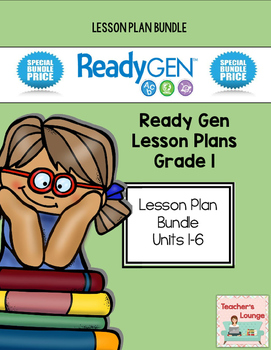 ReadyGen 2014-15 Lesson Plans - BUNDLED - Grade 1