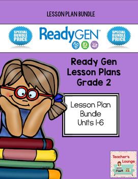 ReadyGen Lesson Plans - BUNDLED - Grade 2