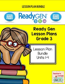 ReadyGen Lesson Plans - BUNDLED - Grade 3