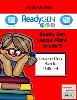 ReadyGen 2014-15 Lesson Plans - BUNDLED - Grade 5