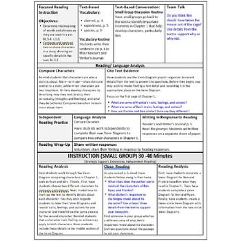 ReadyGen Lesson Plans Unit 3 Module B  - Word Wall Cards - EDITABLE -Grade 5