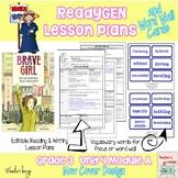 ReadyGen Lesson Plans Unit 4 Module A  - Word Wall Cards - EDITABLE -Grade 3