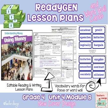 ReadyGen 2014-15 Lesson Plans Unit 4 Module B -Word Wall C