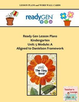 ReadyGen Lesson Plans Unit 5 Module A - Word Wall Cards -
