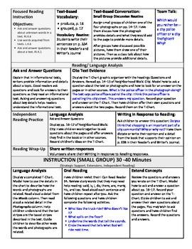 ReadyGen Lesson Plans Unit 6 Module B - Word Wall Cards - EDITABLE -Kindergarten