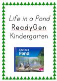 ReadyGen Life in a Pond Kindergarten Unit