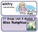 ReadyGen Miss Rumphius Vocabulary 1st Grade Unit 4 Module A