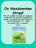 ReadyGen On Meadowview Street Vocabulary 2nd Grade unit 6 Module 6