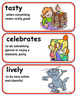 ReadyGen One Classroom, Many Cultures Vocabulary 1st Grade Unit 6 Module A