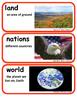 ReadyGen One Land, Many Cultures Vocabulary Kindergarten Unit 4 Module B
