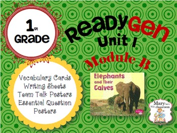 ReadyGen: Module 1B - 2014 Edition