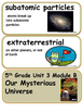 ReadyGen Our Mysterious Universe Vocabulary 5th Grade Unit