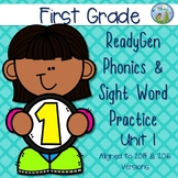 ReadyGen (Ready Gen) Phonics Unit 1 First Grade 2014 & 2016